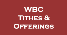 WBC Tithes & Offerings